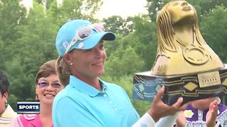Australian Katherine Kirk wins inaugural Thornberry Creek LPGA Classic - Video