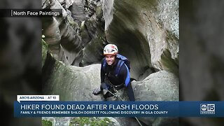 Hiker found dead after flash floods