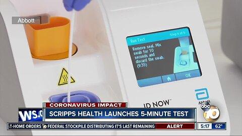 Scripps Health launches 5-minute COVID-19 test