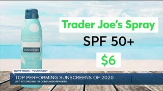 Consumer Reports reveals top-performing sunscreens of 2020