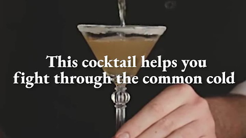 This 3-Ingredient Cocktail Cures the Common Cold