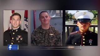 Three U.S. Marines killed in Osprey crash identified
