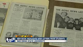 New book highlights SDSU letters from World War II - Video