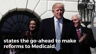 Kentucky to Start Work Requirements for Medicaid - Video
