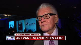 Art Van Elslander, founder of Art Van, dies at age 87 - Video