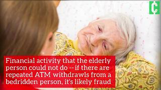 How to spot financial exploitation of the elderly - Video