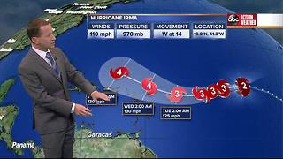 Irma 5 a.m. Saturday Update with Jason - Video