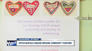 Stitch Buffalo weaves together refugee community - Video