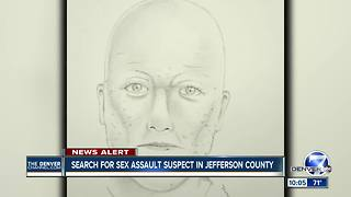 Woman describes sexual assault at work; search ensues for suspect in Jefferson County - Video