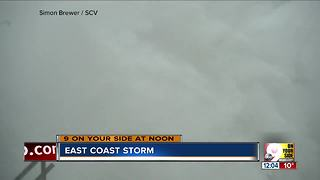 Storm hits the East Coast - Video