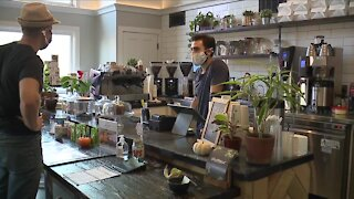 Coffee shop helps health care workers