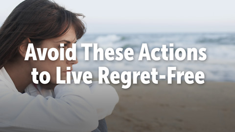 Avoid These Actions to Live Regret-Free
