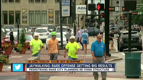 Cincinnati's role in the birth of jaywalking, and why it's difficult to enforce