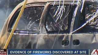 Evidence of illegal fireworks discovered at Grandview explosion site - Video
