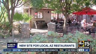 New site for local Arizona restaurants - Video