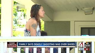 Family says deadly shooting was over shoes - Video