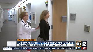 Obamacare rate increases approved in Maryland - Video