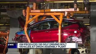 GM producing self driving Bolt