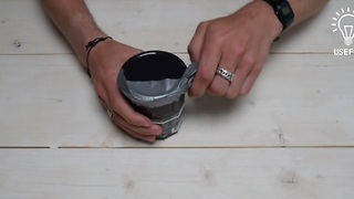 How to use duct tape to open a tightly sealed jar - Video
