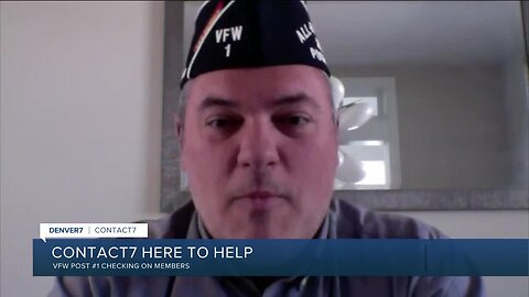 VFW Post No. 1 is checking on members