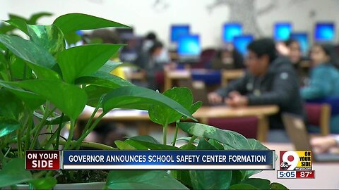 Governor announces school safety center formation