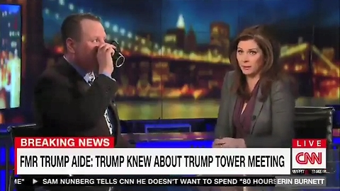 CNN's Erin Burnett tells Sam Nunberg 'I have smelled alcohol on your breath'
