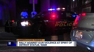 Rally Against Gun Violence to be held in Detroit
