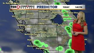 FORECAST: Hot & humid with a few storms Thursday - Video