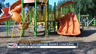 Moldy Playground Raises Concerns - Video
