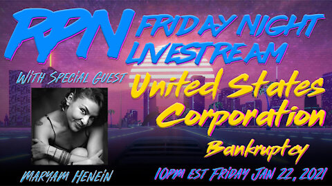 United States CORPORATION Bankruptcy - SAUCED - With Maryam Henein on Fri. Night Livestream