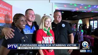 Fundraiser held for West Palm Beach stabbing victim - Video