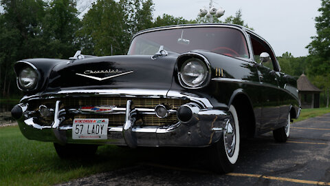 I've Driven My Immaculate '57 Chevy For 62 Years | RIDICULOUS RIDES