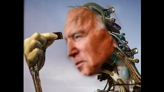 Cyborg Biden Breaks Down