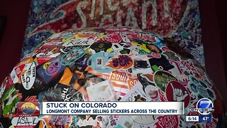 Longmont company selling stickers across the country