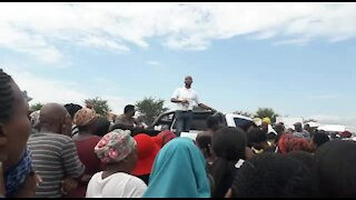 SOUTH AFRICA - Durban - Ladysmith protests (Videos) (5wD)