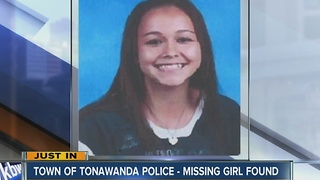 Missing Town of Tonawanda girl found - Video