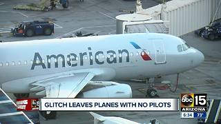 Glitch leaves American Airlines holiday flights without pilots scheduled - Video