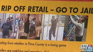 New push against professional shoplifters - Video