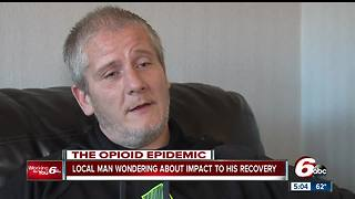 Kokomo man struggling with drug addiction concerned over Trump's opioid declaration - Video