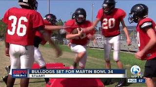 South Fork Prepares for Martin Bowl - Video