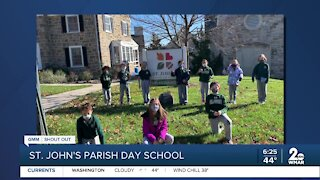 Good Morning Maryland from the St. John's Parish Day School