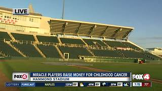 Miracle Players Fundraise for VS. Cancer - Video