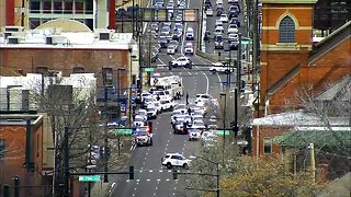 News conference: Two Denver Police officers injured after shots fired at 6th Ave. and Inca St.