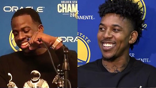 "Draymond Green ROASTS Nick Young Over His ""Career High"" Assist Total - Video"