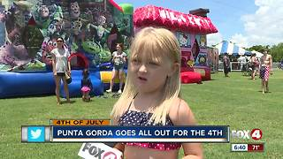 Punta Gorda goes all out for July 4th