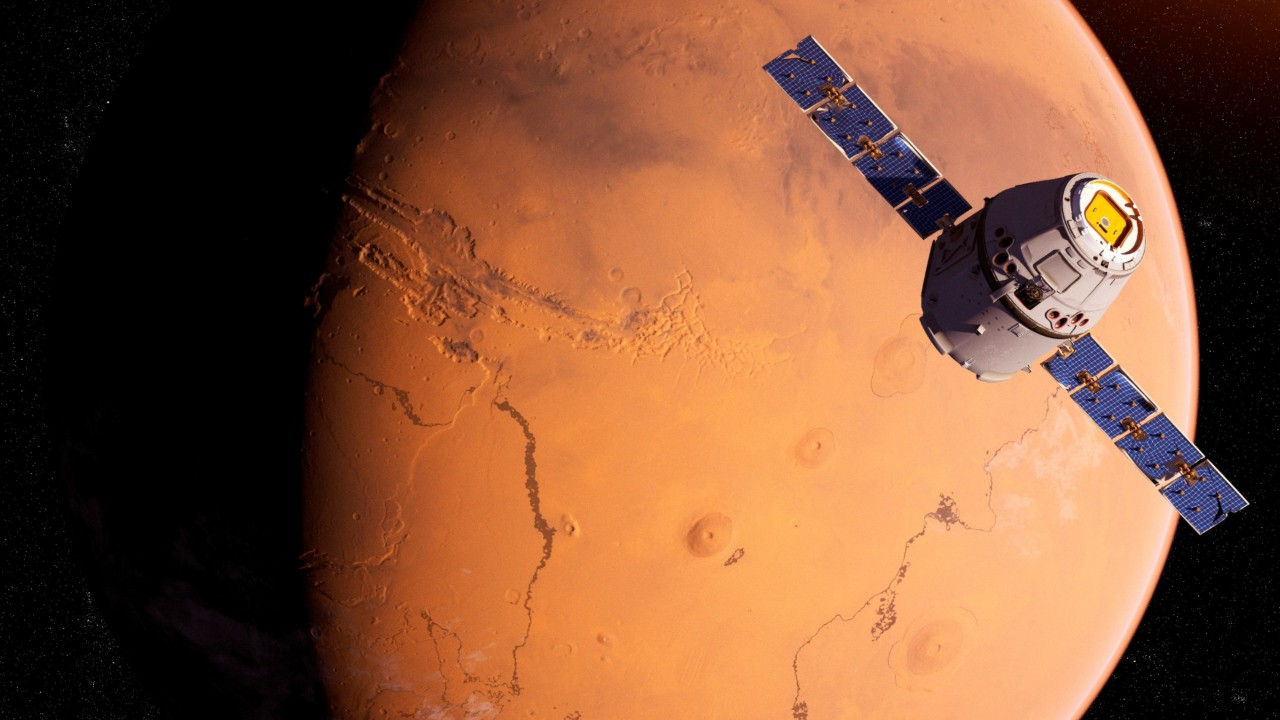 Scientists believe there is life on Mars