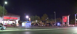 Woman dead after crash in Las Vegas