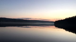 Timelapse Shows Fog Forming and Dissipating Along the Connecticut River