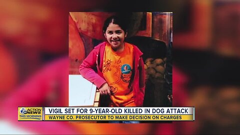 Vigil set for 9-year-old killed in dog attack