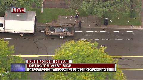 At least one person killed when suspected drunk driver plows into DDOT bus stop